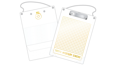 Puzzle-solving Clipboard(White)