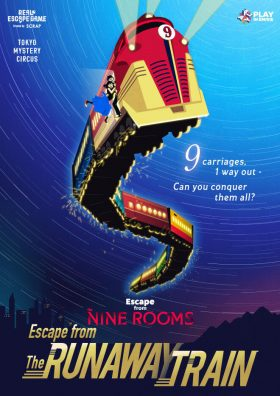 Escape from The NINE ROOMS – Escape from The Runaway Train