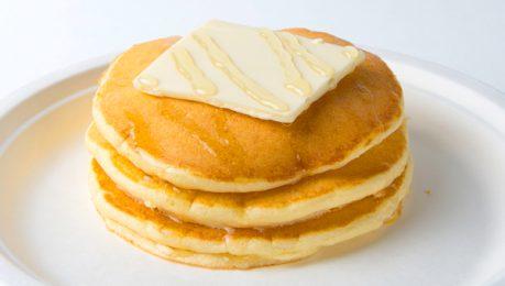 蜂蜜バターのパンケーキ