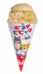 アニメ「ポプテピピック」コラボ 放送延期記念かき氷