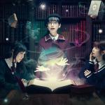 テーブルに魔法がかかる☆ yelo CAFE×魔法図書館「魔法のChristmas」スタート!
