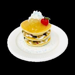 クッキングルリアの謎付きパンケーキ