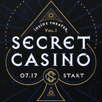 SCRAPが新たに送る、没入型体験シリーズ「Inside Theater」がオンラインで初開催!『SECRET CASINO』が7月17日からスタート!